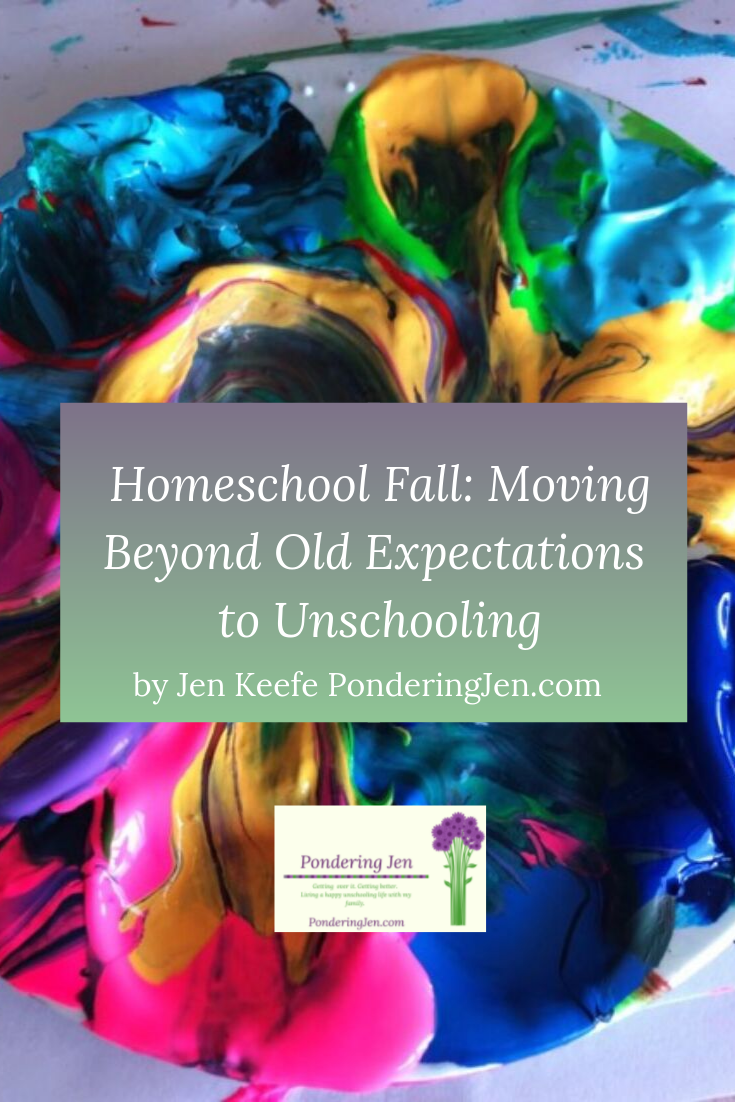 Homeschool Fall: Moving Beyond Old Expectations to Unschooling