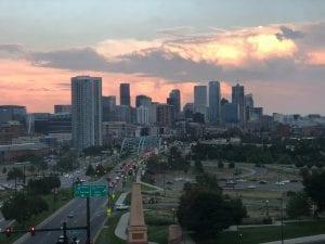 Moving Away from Denver? Denver Skyline