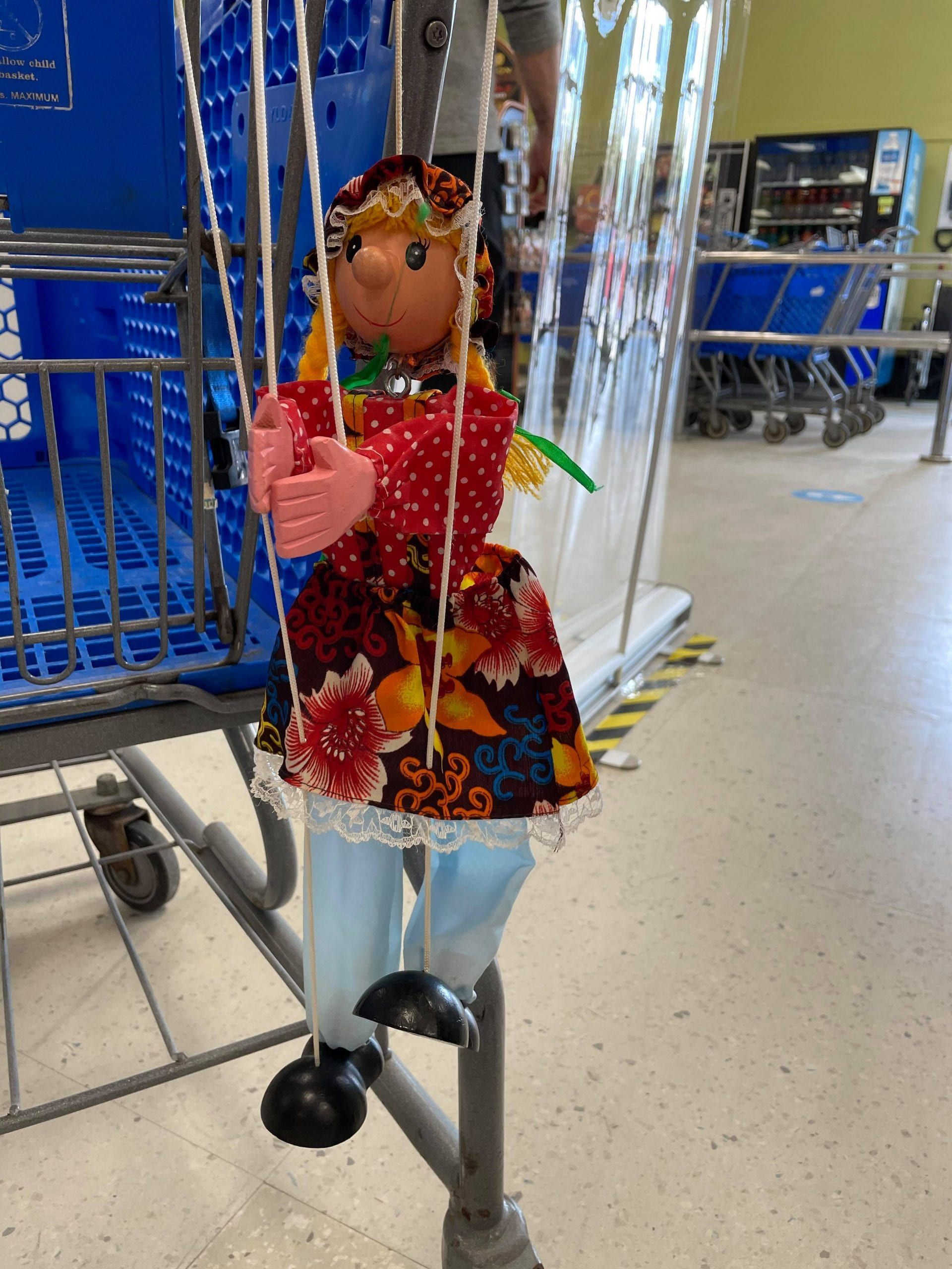 image of stringed puppet that's making life fun